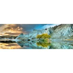 Modré jazero - PANORAMATICKÉ PUZZLE