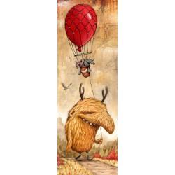 Červený balón - VERTIKÁLNÉ PUZZLE