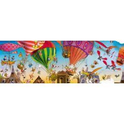 Balóny - PANORAMATICKÉ PUZZLE