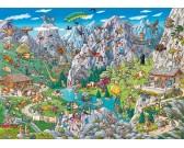 Zábava v Alpách - TRIANGULAR PUZZLE