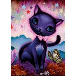 Čierna mačička