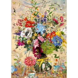 Život kvetín - TRIANGULAR PUZZLE