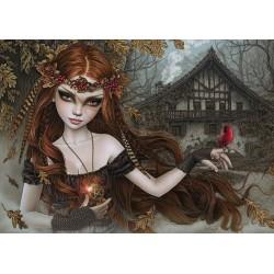 Červený vták