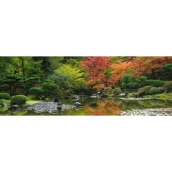 Japonská záhrada - PANORAMATICKÉ PUZZLE