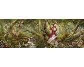 Pieseň lesa - PANORAMATICKÉ PUZZLE
