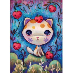 Jahodová mačička