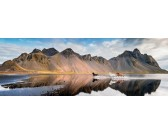 Islandské kone - PANORAMATICKÉ PUZZLE