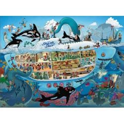 Podmorská zábava - TRIANGULAR PUZZLE