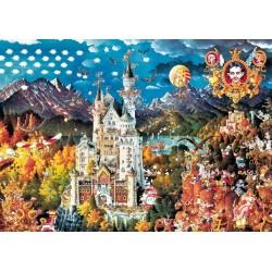 Bavorsko - TRIANGULAR PUZZLE