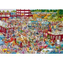 Flea market - TRIANGULAR PUZZLE