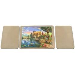 Podložky na skladanie puzzle 1x1000 + 2x500