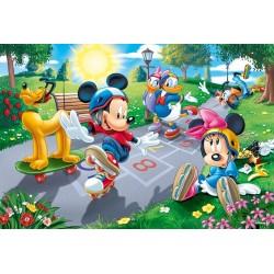 Mickey Mouse - na ihrisku - DETSKÉ PUZZLE