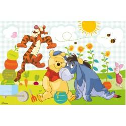 Medvedík Pú - med - DETSKÉ PUZZLE