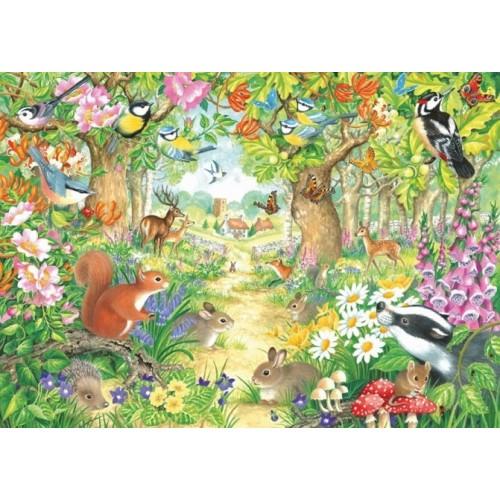 Nase Zvieratka Z Lesa Falcon Puzzle 1000 Dielikov I Puzzle Sk