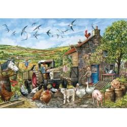 Deň na anglickej farme