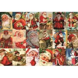 Santa Klaus - koláž