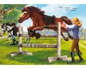 Skákajúcí kôň - DETSKÉ PUZZLE