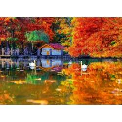 Malý domček u jazera