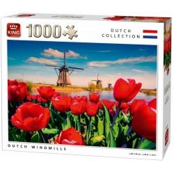 Puzzle Veterné mlyny v Holandsku