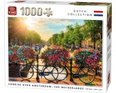 Puzzle Slunce nad Amsterdamem