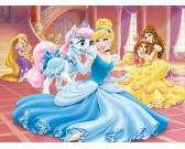 Princezná s koníkom - DETSKÉ PUZZLE