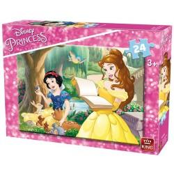 Princezné - čítanie - DETSKÉ PUZZLE