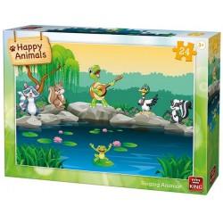 Zvieratká pri vode - DETSKÉ PUZZLE