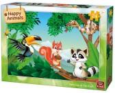 Zvieratká na strome - DETSKÉ PUZZLE