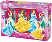 Princezné - KONTURA PUZZLE