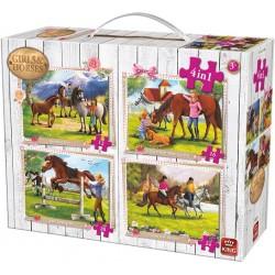 Život pri koňoch - DETSKÉ PUZZLE