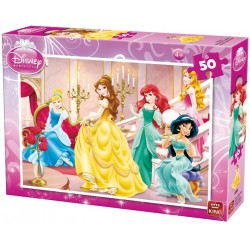 Princezné v paláci - DETSKÉ PUZZLE