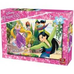 Šikovné princezné - DETSKÉ PUZZLE