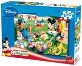 Mickey Mouse na ihrisku - DETSKÉ PUZZLE