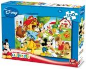 Mickey Mouse na farme - DETSKÉ PUZZLE