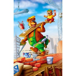 Medvede na stavbe - DETSKÉ PUZZLE