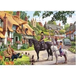Vychádzka na koni
