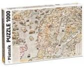 Námorná mapa z r. 1572