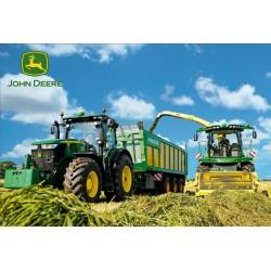 Traktory - žatva - DETSKÉ PUZZLE