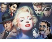 Marilyn Monroe s priateľmi