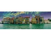 Pohľad na Benátky - PANORAMATICKÉ PUZZLE