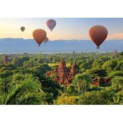 Balóny nad Myanmarom