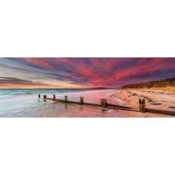 Pláž McCrae, Austrália - PANORAMATICKÉ PUZZLE