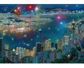 Ohňostroje nad Hongkongom