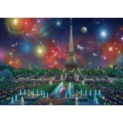 Ohňostroje nad Pařížom