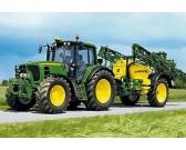 Traktor - DETSKÉ PUZZLE + model traktora
