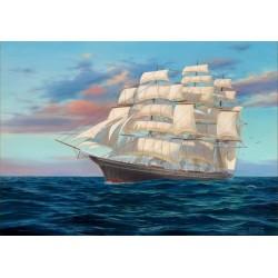 Plachetnica na šírom mori