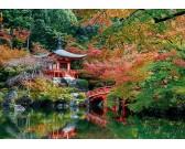 Jazero v japonskej záhrade
