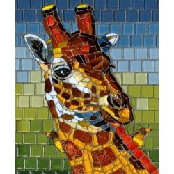 Mozaika - žirafa