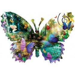 Motýľ - vodopád