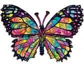 Motýľ - PUZZLE KONTURA